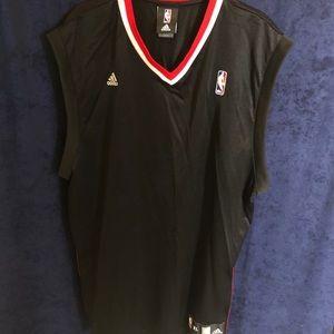 Men's Adidas NBA Official Sleeveless Jersey